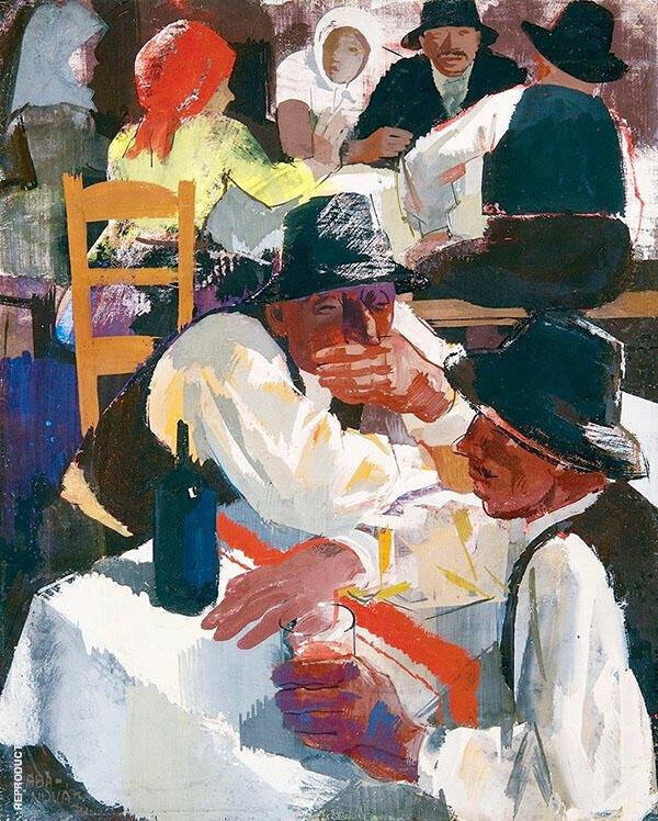 Drinkers By Vilmos aba-Novak