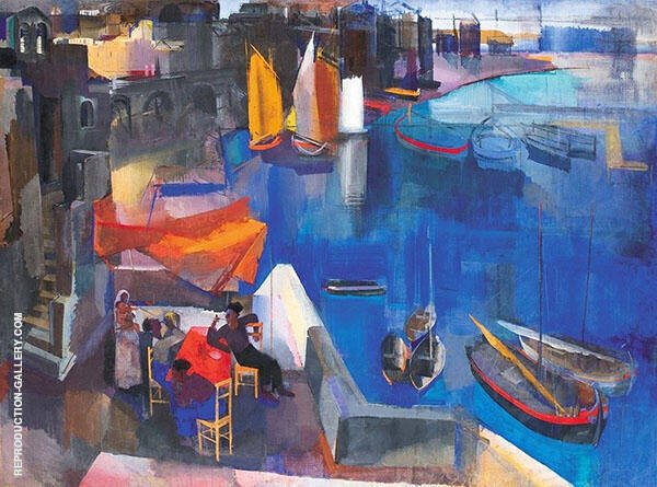 Harbor By Vilmos aba-Novak
