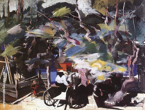 Homebound 1937 By Vilmos aba-Novak