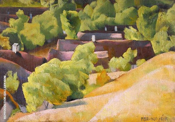 In The Hills of Buda By Vilmos aba-Novak