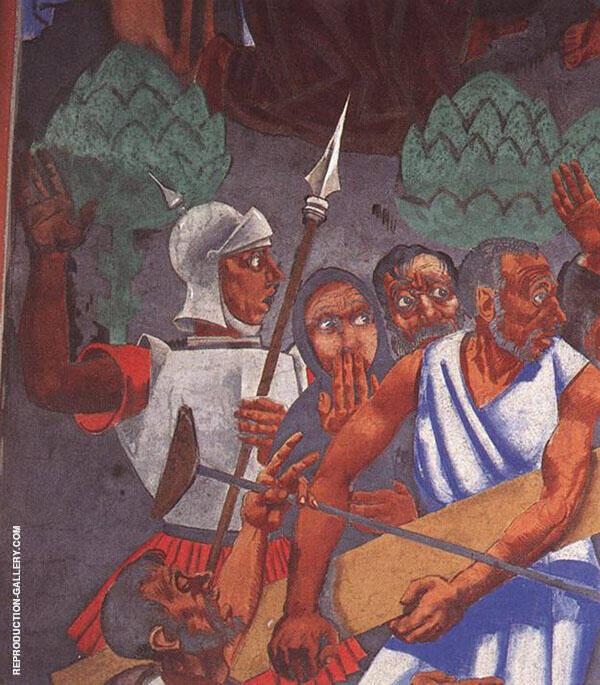 Last Judgment detail 2 1933 By Vilmos aba-Novak