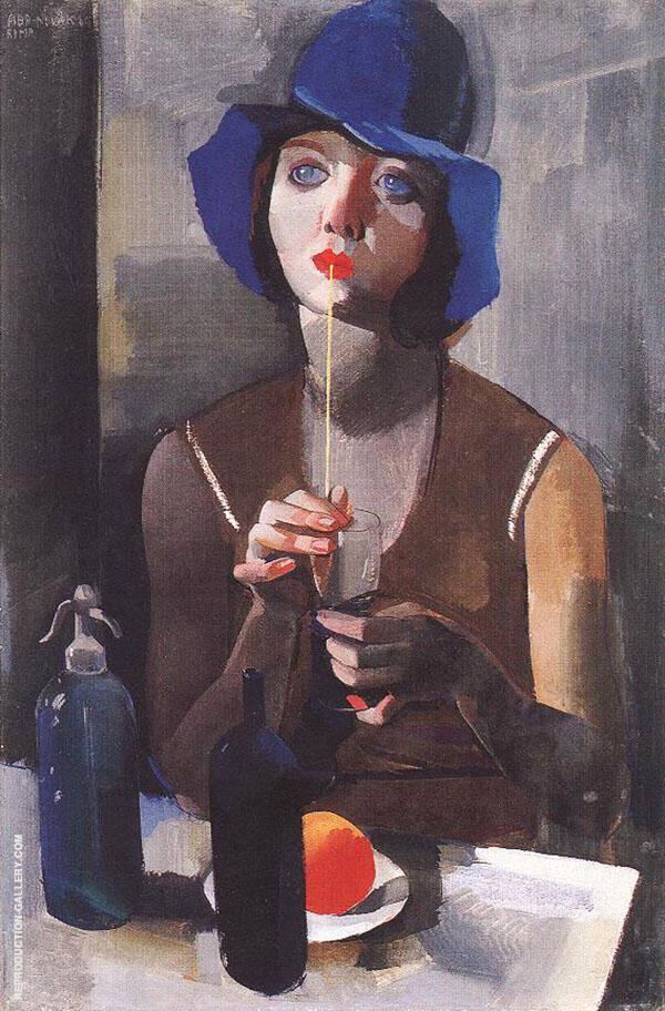 Laura No 1 1929 By Vilmos aba-Novak