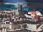 Mediterranean Harbor By Vilmos aba-Novak
