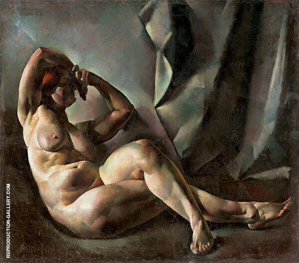 Nude Study Painting By Vilmos aba-Novak - Reproduction Gallery