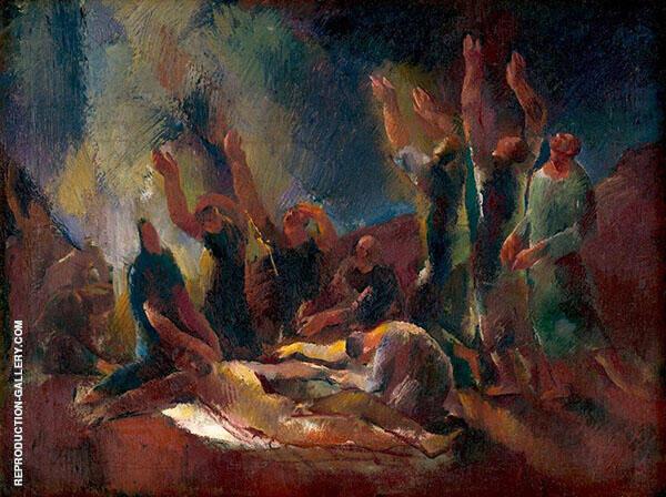 Snimanie Painting By Vilmos aba-Novak - Reproduction Gallery