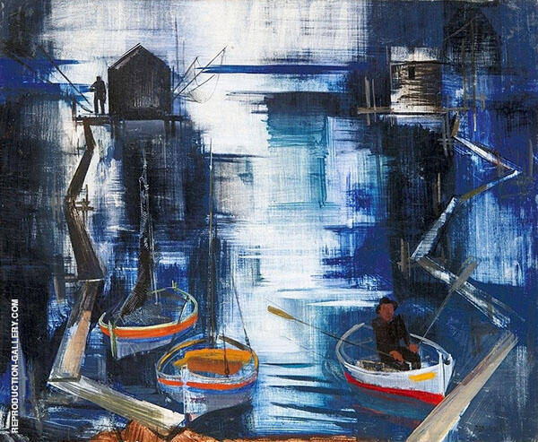 Trabucco Painting By Vilmos aba-Novak - Reproduction Gallery
