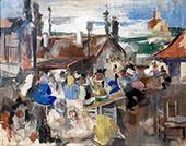Village Festival By Vilmos aba-Novak