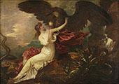 Eagle Bringing Cup to Psyche c1802 By Anton Domenico Gabbiani