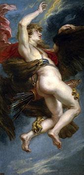 The Rape of Ganymede c1636 By Peter Paul Rubens