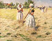 Haymakers Zeeland By George Hitchcock