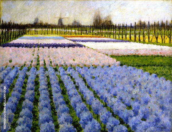 Holland Hyacinth Garden By George Hitchcock