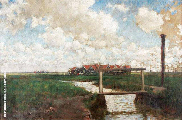 Island of Marken By George Hitchcock