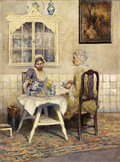 Tea for Two By George Hitchcock