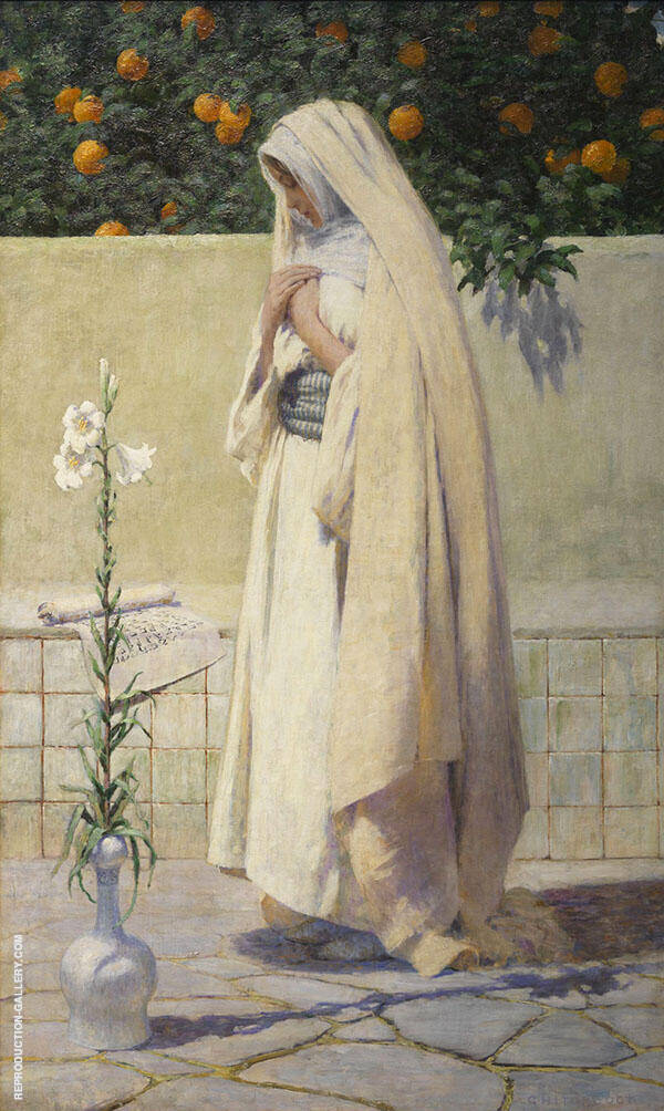 The Annunciation By George Hitchcock