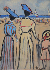 Family Trip to The Beach By Henry Saint-Clair