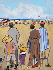Going to The Beach By Henry Saint-Clair