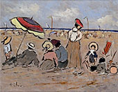 Oat The Beach with Friends By Henry Saint-Clair