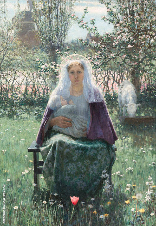 The Blessed Mother By George Hitchcock
