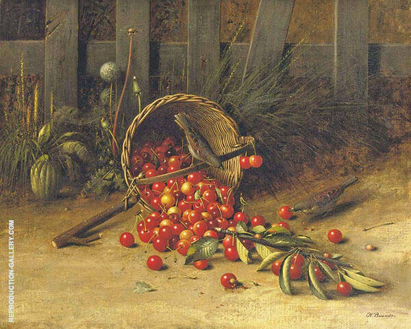 The Cherry Thieves 2 By George Hitchcock
