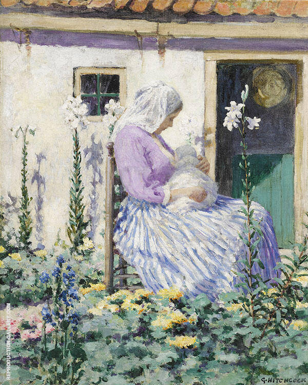 The White Lilies c1895 By George Hitchcock