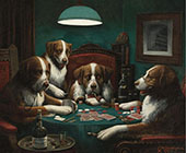 Poker Game 1894 By Cassius Marcellus Coolidge