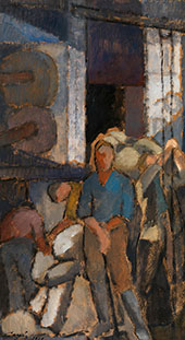 At The Factory By Alvar Cawen