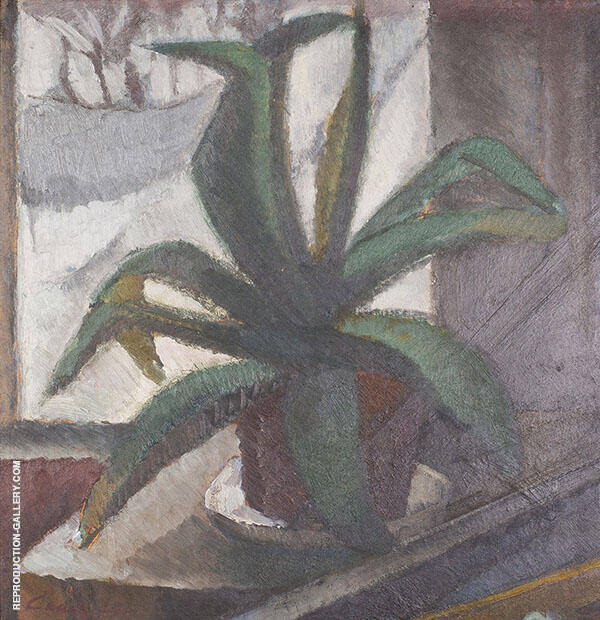 Cactus Painting By Alvar Cawen - Reproduction Gallery