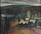 Farm in The Wilderness 1929 By Alvar Cawen