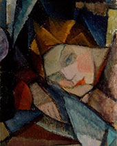 Head of a Woman By Alvar Cawen