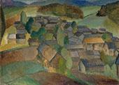 Landscape from France By Alvar Cawen