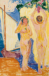 Rannalla 1912 By Alvar Cawen