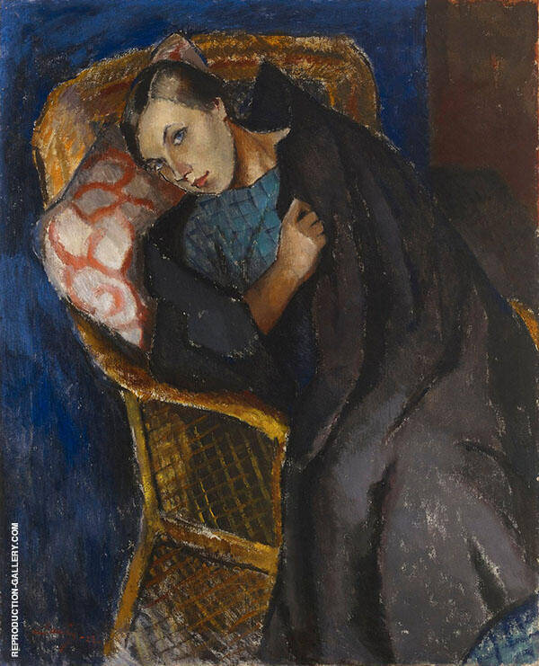 The Convalescent By Alvar Cawen
