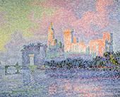 Papal Palace 1900 By Paul Signac