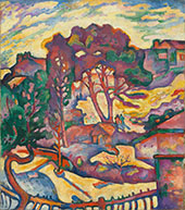 Large Trees L'Estaque c1906 By Georges Braque