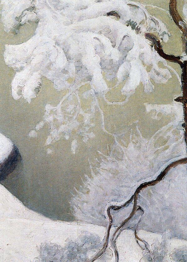 Ensi Snow 1931 By Pekka Halonen