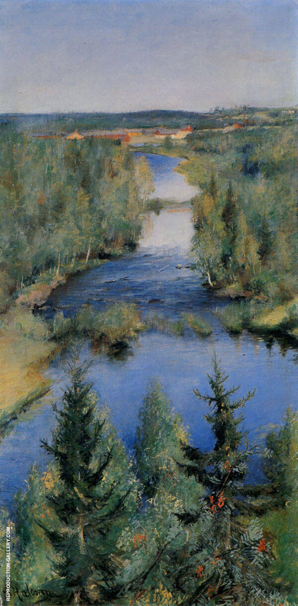 Late Summer 1892 By Pekka Halonen
