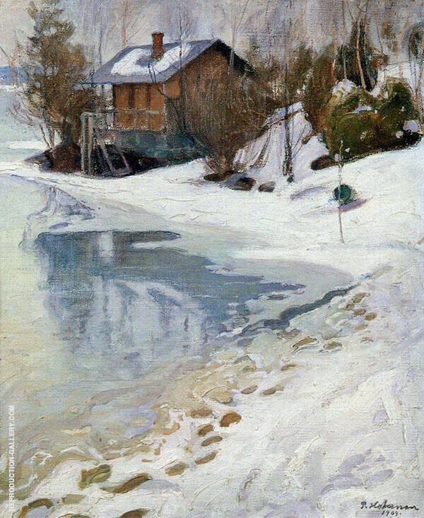 Late Winter 1909 By Pekka Halonen