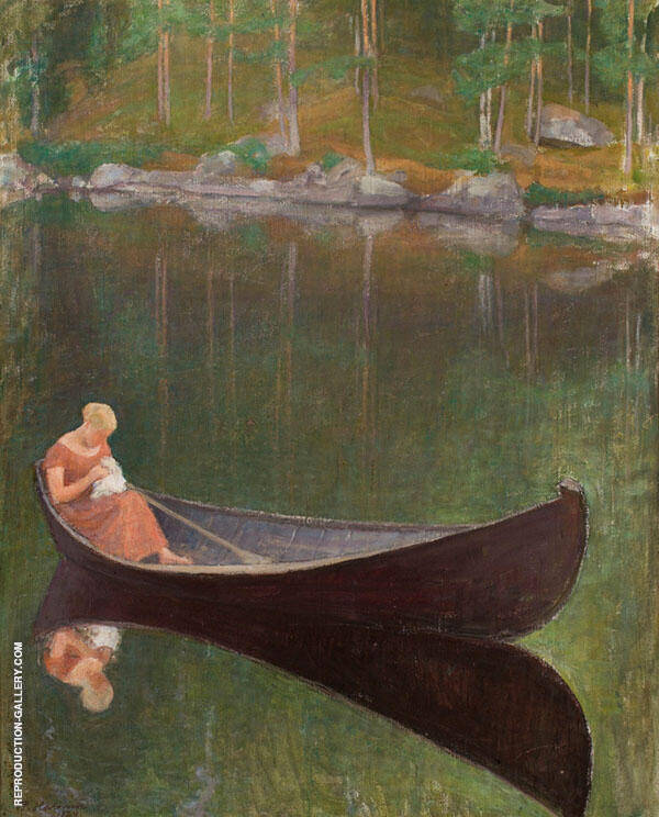 On The Water 1922 By Pekka Halonen