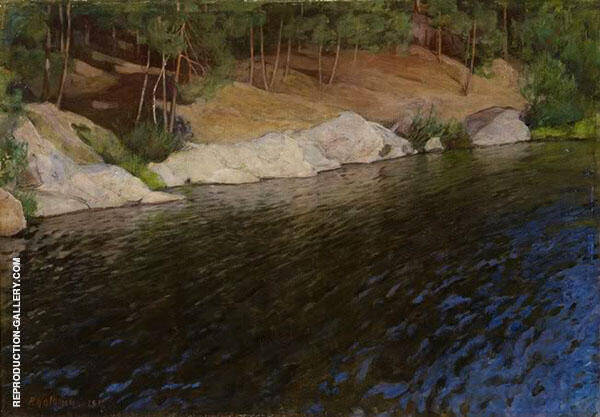Rivier Bank 1897 By Pekka Halonen