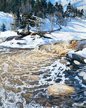 Spring Flood 1895 By Pekka Halonen