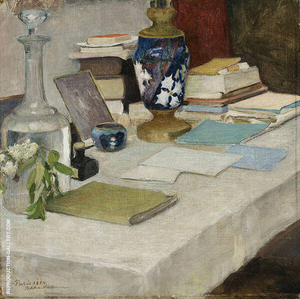 Still Life 1894 By Pekka Halonen