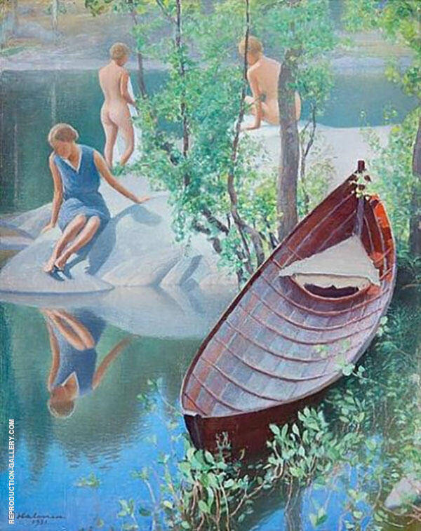 Summer Idyll 1931 By Pekka Halonen