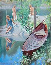 Summer Idyll 1931 By Pekka Halonen