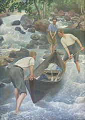 Summer Sports 1922 By Pekka Halonen