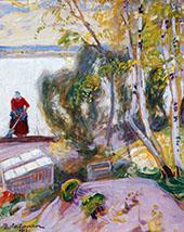 The Garden 1913 By Pekka Halonen