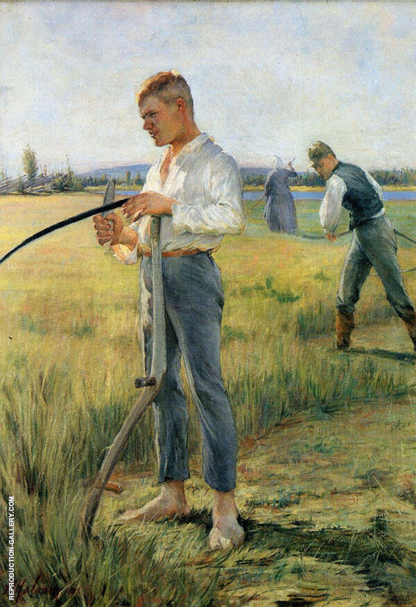 The Hay Cutters By Pekka Halonen