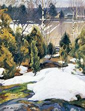 The Last Snow 1908 By Pekka Halonen