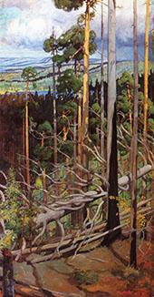 The Wilderness By Pekka Halonen