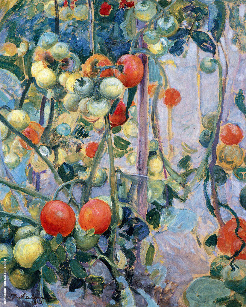 Tomatoes 1913 By Pekka Halonen
