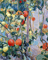 Tomatoes 1913 By Pekka Halonen